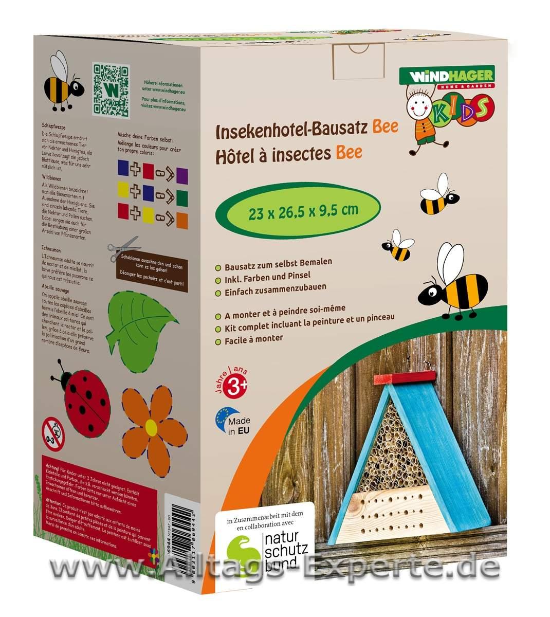 insektenhotel zum selber bauen - bausatz