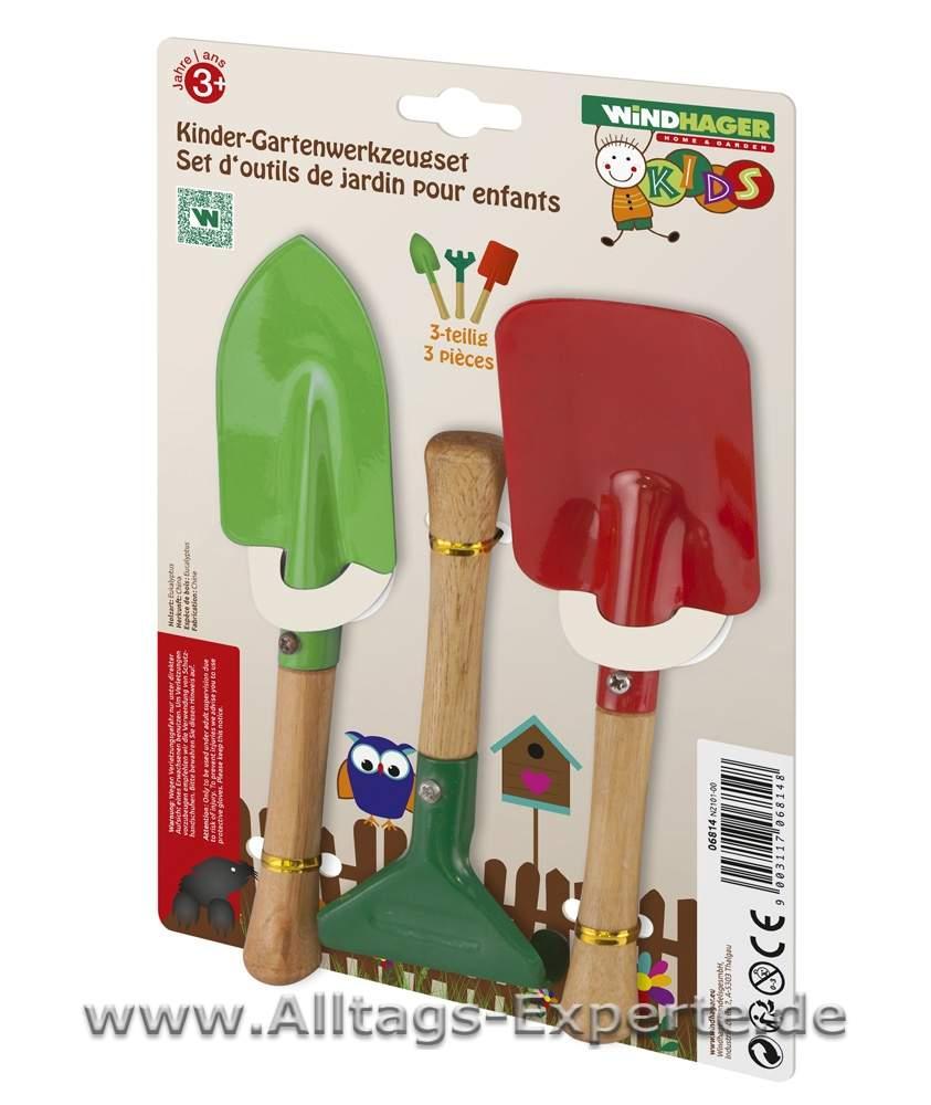 gartenwerkzeug für kinder 3er set